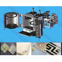 China Ceramic Tile  Gold and Silver PVD Plating Machine ,  PVD Gold, rose gold coating equipment on ceramics on sale