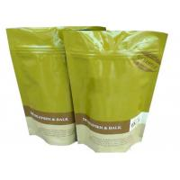Wholesale Ziplock FlatBottom Coffee Packaging Bags Aluminum Foil Inside 120 Mic from china suppliers