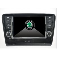 Buy cheap Skoda Octavia Skoda DVD Player , Touch screen car dvd player with GPS from wholesalers