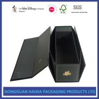 Wholesale Magnetic Closure Black Foldable Paper Gift Box Customized Logo Acceptable from china suppliers