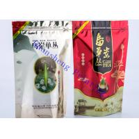 Wholesale Eco Friendly Resealable Ziplock Doypack Stand Up Zip Pouch With Tear Off Notch from china suppliers