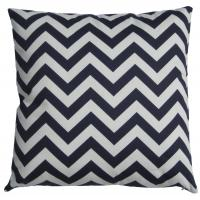 Wholesale Home Chevron Patterned Cotton Cushion , Decorative Square Cushion from china suppliers