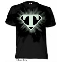 Wholesale hot sell 2012 fashion mens attractive glow in the dark t-shirt custom from china suppliers