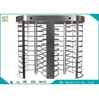 Wholesale Two Lanes Full Height Turnstiles With Biometric Fingerprint Gate from china suppliers