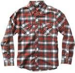 Buy cheap Pure cotton kids apparel plaid boys shirt with environment friendly reactive printing from wholesalers