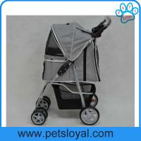 Wholesale Manufacturer High Quality Collapsible Pet Trolley Dog Stroller from china suppliers