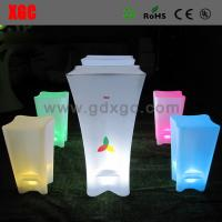 Wholesale LED light up stool furniture GF209 light furniture plastic Led furniture bar Chair Bar Chair from china suppliers