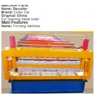 Wholesale 22KW Gearbox Drive Floor Deck Roll Forming Machine With 5T Manual Uncoiler from china suppliers