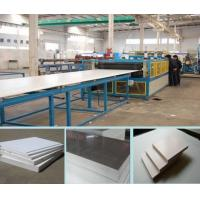 Wholesale 3-18mm PVC Crust Foamed  plastic Board machine  good price in china from china suppliers
