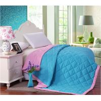 Wholesale Filling Colorful Double Face Binding Microfiber Quilt Set Comforter For Summer from china suppliers