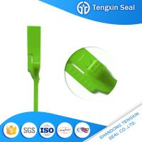 Wholesale TX-PS206 Tengxin Chinese supplier bag safety plastic seal free sample delivery with logo design from china suppliers