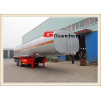 Wholesale Water Tanker Fuel Tanker Trailer 40000 Liters Trailer Tank With Bpw Axle from china suppliers