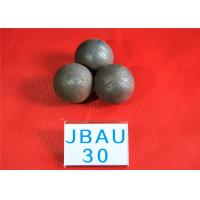Wholesale 62-63HRC Surface hardness Durable Wear Resistance Grinding Balls For Ball Mill , Hot Rolling Steel Balls for Mines from china suppliers