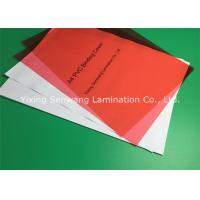 Rigid Red Glossy PVC Binding Covers A3 Subtle Dull Polish For Anti - Skid
