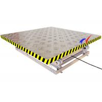 Wholesale 2 * 1.8m Platform Electric Lift Table Small Scissor Lift Table With 6m Lifting Height from china suppliers