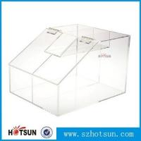Wholesale Factory Direst Sale Clear Beautiful plexiglass candy box from china suppliers