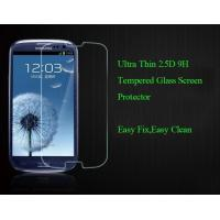 Quality Real 2.5D Tempered Glass LCD Phone Screen Protection For Samsung Galaxy S3 MINI for sale
