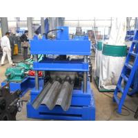 Wholesale Anti Crash Barrier Highway Guardrail Roll Forming Machine Hydraulic Cutting Type from china suppliers