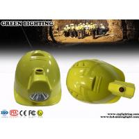 Quality Lithium Ion Safety Mining Led Lights , 1W LED Coal Miner Hard Hat Light  for sale