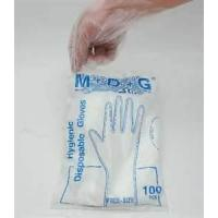 Wholesale HDPE Transparent embossed bacterial proof medical Disposable cleaning glove from china suppliers