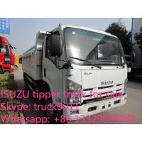 Wholesale ISUZU 4*2 6-8ton dump truck for sale, factory sale China cheaper prcie ISUZU brand dump tipprt truck from china suppliers