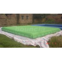 Wholesale Green Color Inflatable Pool Covers / Inflatable Swimming Pond from china suppliers