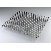 Wholesale Heavy Duty Aluminum Expanded Metal Mesh , Expanded Metal Walkway Mesh from china suppliers