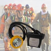 Buy cheap 15000lux Waterproof Kl5lm Rechargeable Mining Hard Hat LED Lights from wholesalers