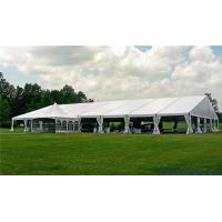 Wholesale Customized Romantic Luxury Transparent Wedding Tent With Ridge Rooftop from china suppliers