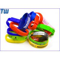 Wholesale Silicon Wristband Usb Pen Drive 2GB Free Logo Printing Popular Design from china suppliers