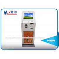 Wholesale Free Standing Fast Food Self Service Kiosk , PC Controlled Outdoor Beverage Vending Machine from china suppliers