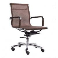 Wholesale Brown adjustable Fabric Office Chair for heavy people With Armrest OEM DX-C618 from china suppliers