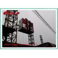 Wholesale High Speed Personnel And Materials Hoist , Building Site Man Hoist Equipment from china suppliers