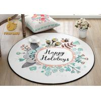 Wholesale Easy Clean Round Entrance Rugs With Non Slip Backing OEM / ODM Available from china suppliers