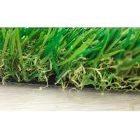 Buy cheap Monofl PE + Curled PP Garden Artificial Grass 10000 Dtex Decorative Fake Grass Carpet from wholesalers
