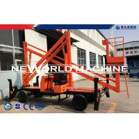 Wholesale 14.5m Diesel Engine Multifunctional Aerial Working Platform 380v Electricity Double from china suppliers