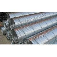 Wholesale Spiral Concrete Corrugated Post Tension Tube / Corrugated Pipe Tube from china suppliers