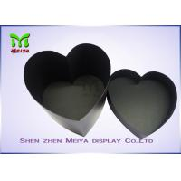 Wholesale Custom Printed Handmade Cordiform Hat packaging Gift Boxes Black color from china suppliers