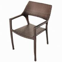 Wholesale Rattan dining chair/UV resistance-outdoor/garden/restaurant/hotel furniture from china suppliers