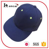 Wholesale Children simple navy 100% cotton twill adjustable 6 panel baseball cap personalised from china suppliers
