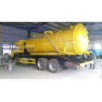 Wholesale SINOTRUK 6M3 290hp Sewage Suction Truck Septic Tank Pumping Truck EURO II Emission with 12.00R20 model Radial Tire from china suppliers