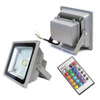 Quality Remote Control Outdoor LED Flood Light  EPISTAR for exterior Wall Decorative for sale