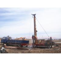 Quality Borehole Water Well Drilling Rig mounted on heavy duty crawler , water well equipment JKS600 for sale