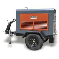 Wholesale Mining or Railway 35KW  Portable Diesel Air Compressor / Industrial Screw Air Compressors from china suppliers