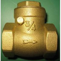 Wholesale Single Sloping Door Swing Silent Check Valve Screwed Female By Brass Body from china suppliers