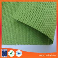 Wholesale Green color Textilene mesh fabric 2X2 weave mesh fabrics for outdoor chair from china suppliers