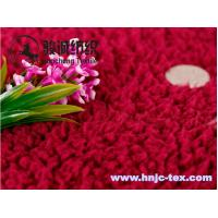 Wholesale Hot sell lamb wool fabric/velveteen for pajamas fabric and apparel from china suppliers