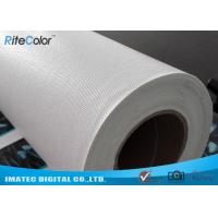 Quality Microporous Glossy Poly Cotton Inkjet Printing Canvas Waterproof For Pigment Inks for sale