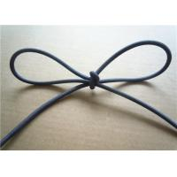 Wholesale Blue 3Mm Waxed Cotton Cords / Elastic Drawstring Cord Polyester from china suppliers