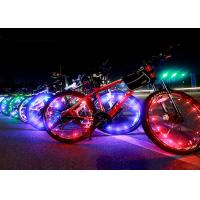 Wholesale Fancy Colorful Led Bike Wheel Lights USB For Bicycle Spokes High Brightness from china suppliers